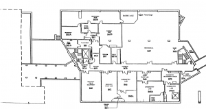 floor plan of Mudd Hall